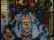 Mardi Gras Indian - Larry Bannock