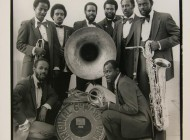 The Dirty Dozen Band; photo by Michael Smith, 1982