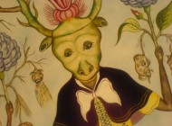 Detail of Carnaval des Fleurs by Rigaud Benoit