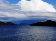 Gulf islands on the way to Vancouver Island