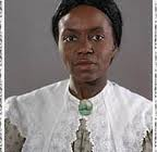 "Actress depicting Maria Stewart in ""Liberty in the Air"" PBS series - Slavery and the Making of America"
