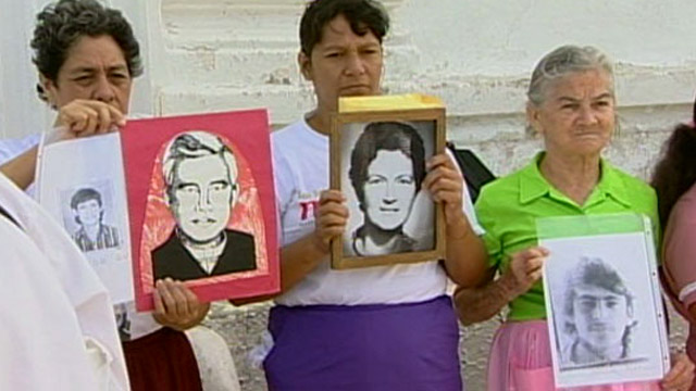 Murdered or disappeared in El Salvador