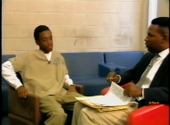 Darren with Neil Shiver, Public Defender, Juvenile Court, Dade County, 1995